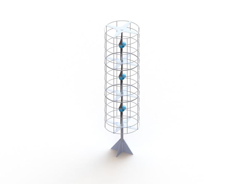 Kleinwindkraftanlage MOWEA Champ - Produktbild