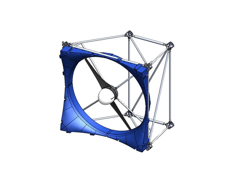 Kleinwindkraftanlage MOWEA Cube - Produktbild