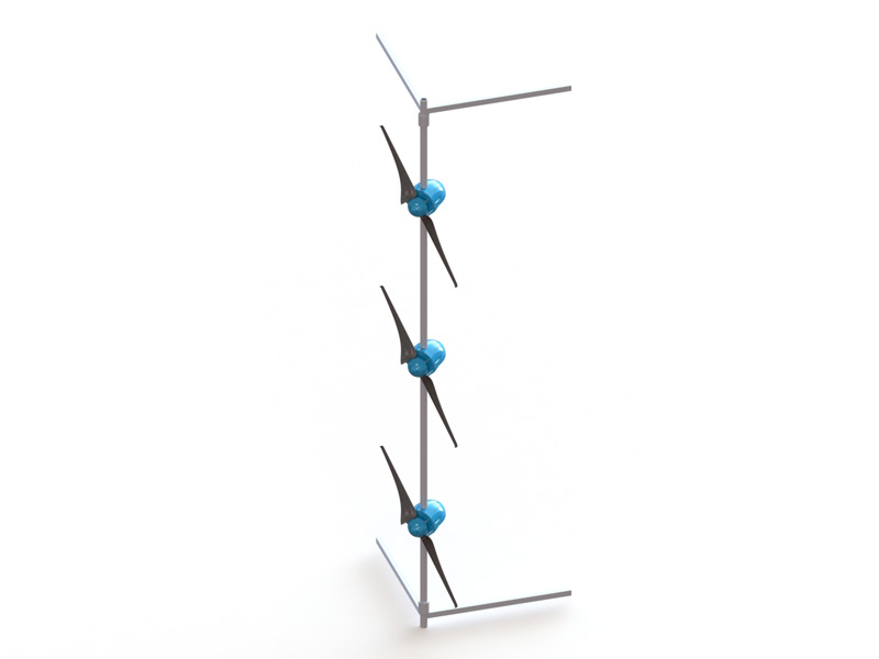 Kleinwindkraftanlage MOWEA String - Produktbild